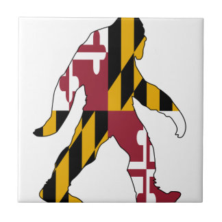 Maryland Bigfoot Tile