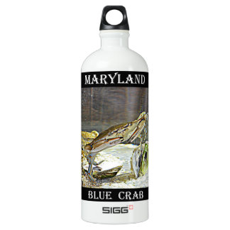 Maryland Blue Crab Water Bottle