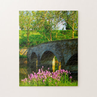 Maryland Burnside Bridge. Jigsaw Puzzle