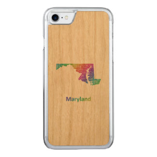 Maryland Carved iPhone 8/7 Case