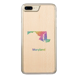 Maryland Carved iPhone 8 Plus/7 Plus Case