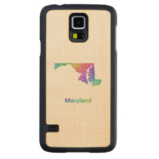Maryland Carved Maple Galaxy S5 Case
