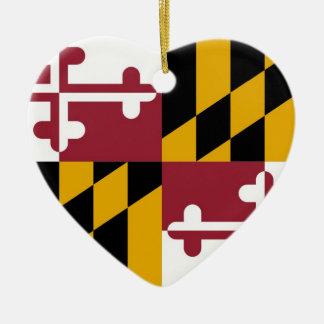 Maryland Ceramic Ornament