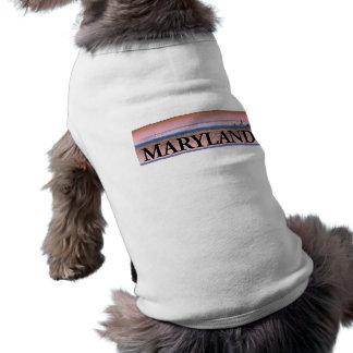 Maryland Chesapeake Bay Scene Doggie Tee