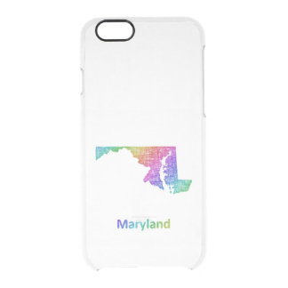 Maryland Clear iPhone 6/6S Case