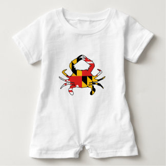 Maryland Crab Baby Romper