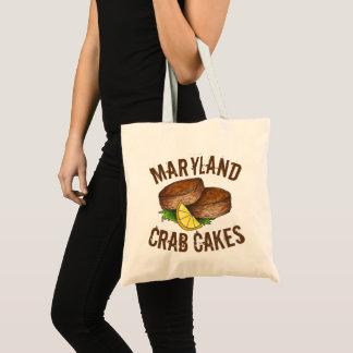 Maryland Crab Cakes Crabcakes Seafood MD Foodie Tote Bag