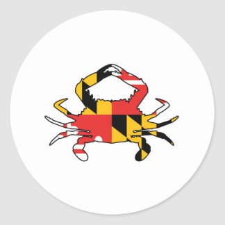 Maryland Crab Classic Round Sticker