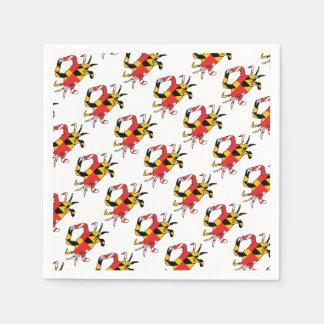 Maryland Crab Disposable Napkins