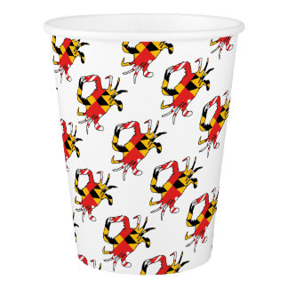 Maryland Crab Paper Cup