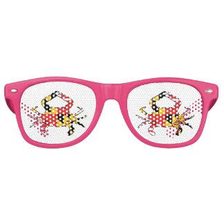 Maryland Crab Retro Sunglasses