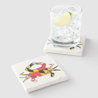 Maryland Crab Stone Coaster