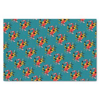 Maryland Crab Tissue Paper