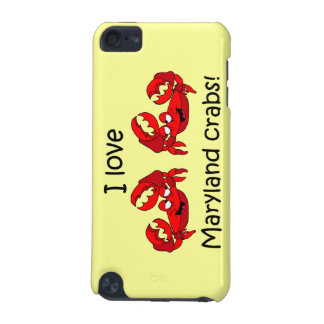 Maryland crabs iPod touch 5G covers