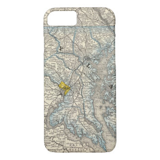 Maryland, DC, and Delaware iPhone 7 Case