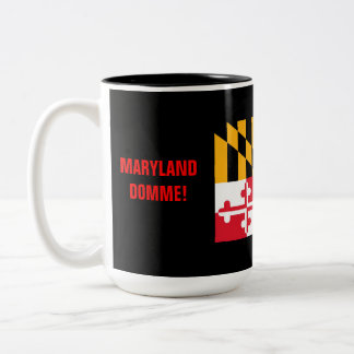 MARYLAND DOMME! Two-Tone COFFEE MUG