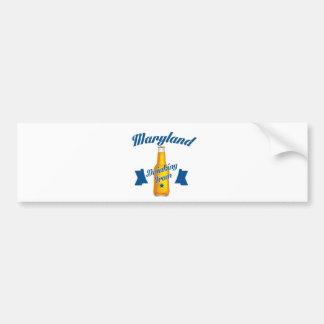 Maryland Drinking team Bumper Sticker