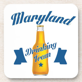Maryland Drinking team Coaster