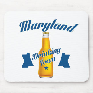 Maryland Drinking team Mouse Pad