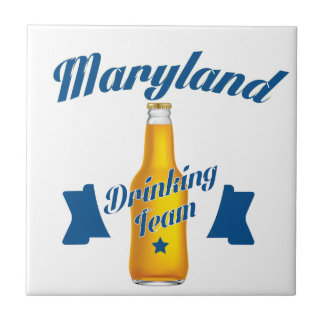 Maryland Drinking team Tile