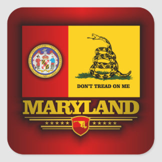 Maryland (DTOM) Square Sticker
