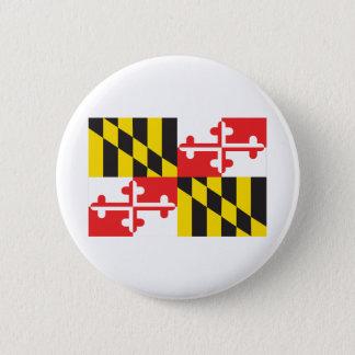 Maryland Flag 2 Inch Round Button