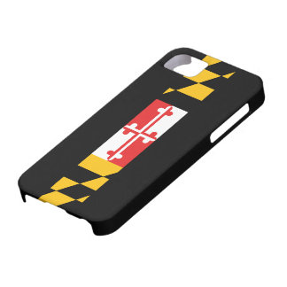 Maryland Flag 5s Case For The iPhone 5