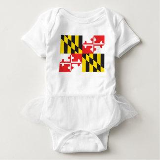 Maryland Flag Baby Bodysuit