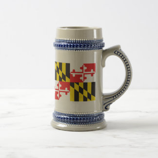 Maryland Flag Beer Stein