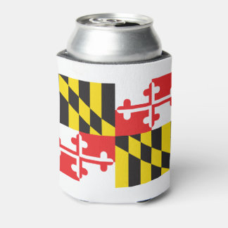 Maryland Flag Can Cooler