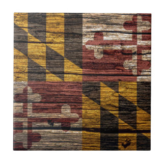 Maryland Flag Ceramic Tile