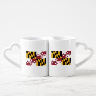 Maryland Flag Coffee Mug Set