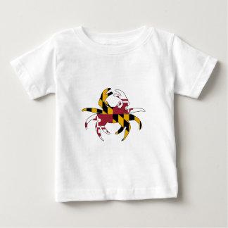 Maryland Flag Crab Baby T-Shirt