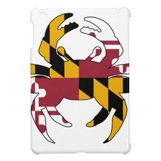 Maryland Flag Crab iPad Mini Covers