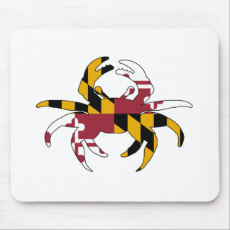 Maryland Flag Crab Mouse Pad