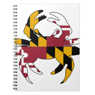 Maryland Flag Crab Notebook
