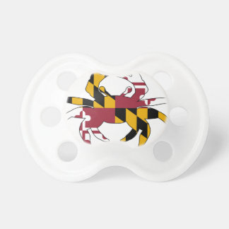 Maryland Flag Crab Pacifier