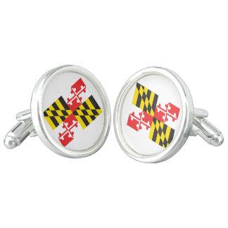 Maryland Flag Cufflinks