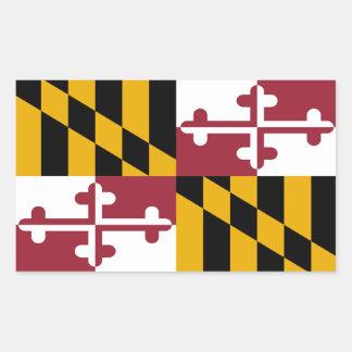 Maryland Flag Decal (set of 4) Sticker