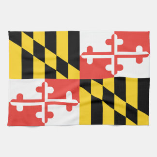 Maryland Flag Dish Towel
