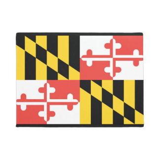 Maryland Flag Door Mat