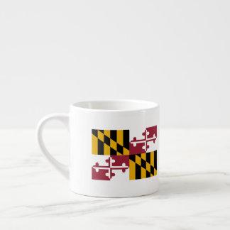 Maryland Flag Espresso Cup