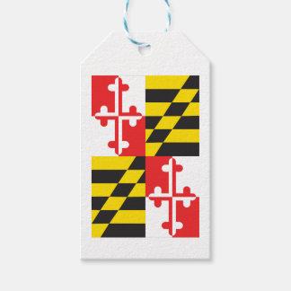 Maryland Flag Gift Tags