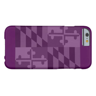 Maryland Flag (horizontal) phone case - plum