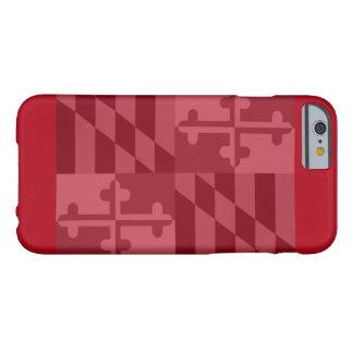 Maryland Flag (horizontal) phone case - red