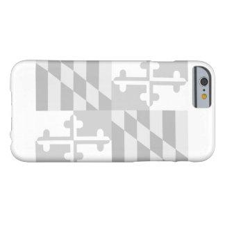 Maryland Flag (horizontal) phone case - white