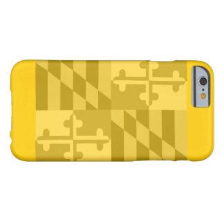 Maryland Flag (horizontal) phone case - yellow