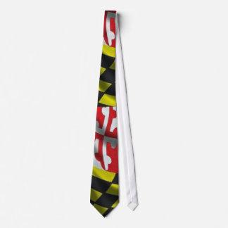 Maryland Flag (Large Print) Tie