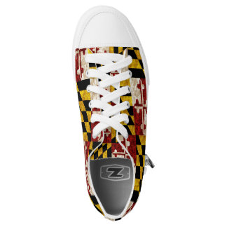 Maryland Flag Low-Top Sneakers