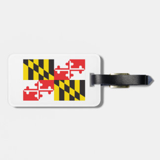 Maryland Flag Luggage Tag